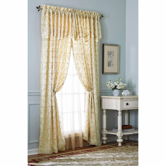 Better Homes And Gardens Other - Better Homes & Garden embroidered curtain NWT